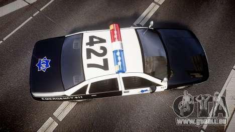Chevrolet Caprice 1990 LCPD [ELS] Patrol pour GTA 4 est un droit