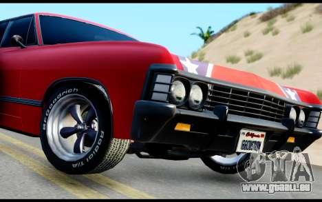 Chevrolet Impala für GTA San Andreas zurück linke Ansicht