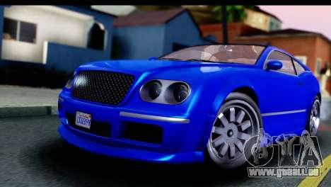 GTA 5 Enus Cognoscenti Cabrio für GTA San Andreas rechten Ansicht
