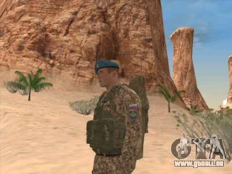Grenadier der Luftlandetruppen der Russischen Fö für GTA San Andreas her Screenshot