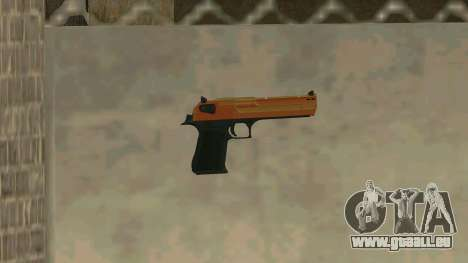 Orange Desert Eagle pour GTA San Andreas