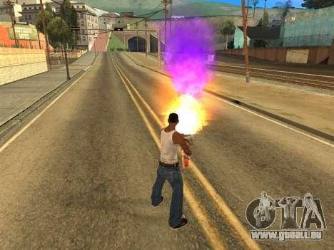 Fagot Funny Effects 1.1 für GTA San Andreas dritten Screenshot