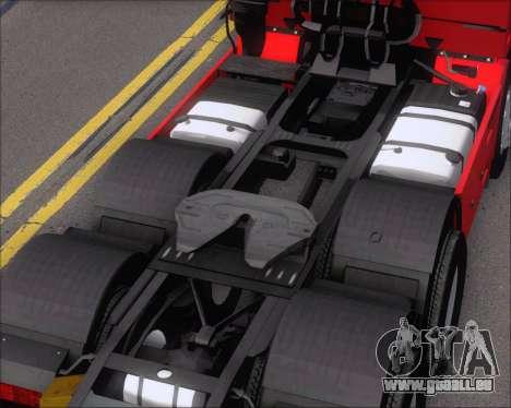 Iveco Stralis HiWay 6x4 pour GTA San Andreas vue de côté