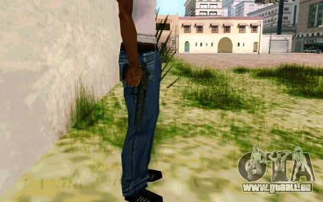 Desert Eagle (Dodgers) für GTA San Andreas her Screenshot