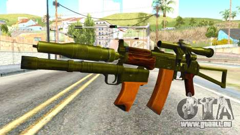 Canary (America ' s Army) für GTA San Andreas