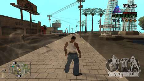 C-HUD By.Kidd pour GTA San Andreas