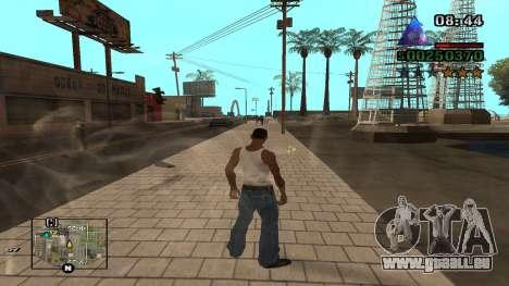 C-HUD By.Kidd für GTA San Andreas