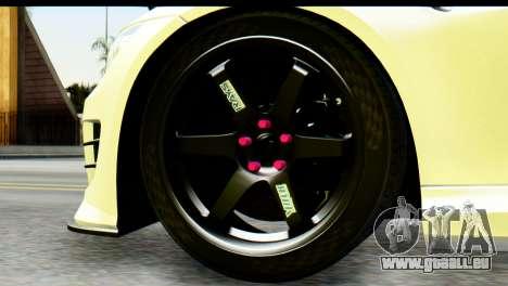 BMW M3 GTS Tuned v1 pour GTA San Andreas sur la vue arrière gauche