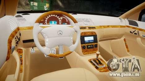 Mercedes-Benz S600 W220 pour GTA 4 est un côté