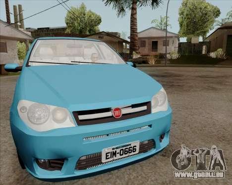 Fiat Siena 2008 pour GTA San Andreas