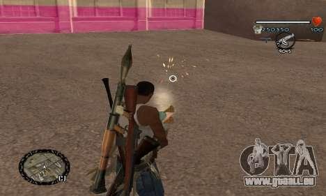 C-HUD UNIVERSAL pour GTA San Andreas deuxième écran