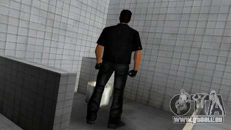 Tommy In Black pour GTA Vice City cinquième écran