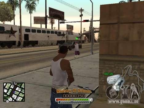 C-HUD для Armee für GTA San Andreas dritten Screenshot