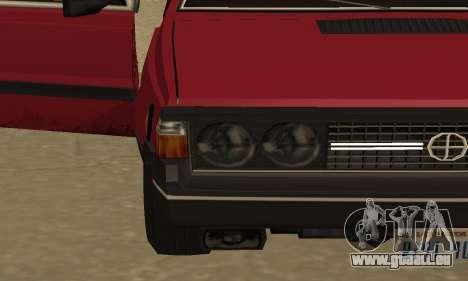 FSO Polonez 1500 für GTA San Andreas Innen