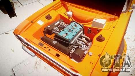 Ford Escort RS1600 PJ44 pour GTA 4 Vue arrière