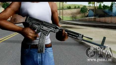 MP44 from Hidden and Dangerous 2 für GTA San Andreas dritten Screenshot