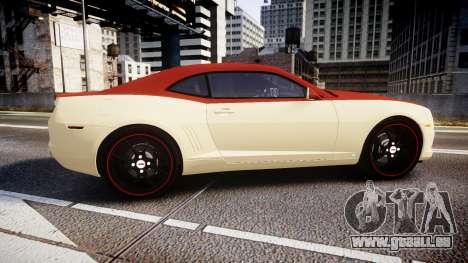 Chevrolet Camaro SS pour GTA 4 est une gauche