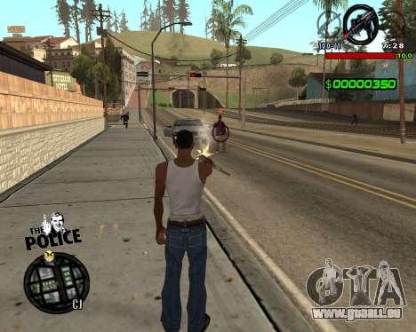 C-HUD by Jim pour GTA San Andreas deuxième écran