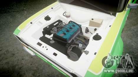 Ford Escort RS1600 PJ40 für GTA 4 Rückansicht
