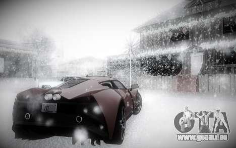 L'Hiver 2.0 ENBSeries pour GTA San Andreas quatrième écran