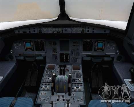 Airbus A320-200 Brussels Airlines pour GTA San Andreas vue de côté