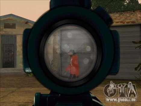 Sniper Skope Mod FIX pour GTA San Andreas
