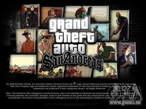 Neu laden Bildschirme für GTA San Andreas dritten Screenshot