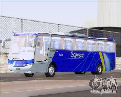 Busscar Vissta Buss LO Cometa für GTA San Andreas linke Ansicht