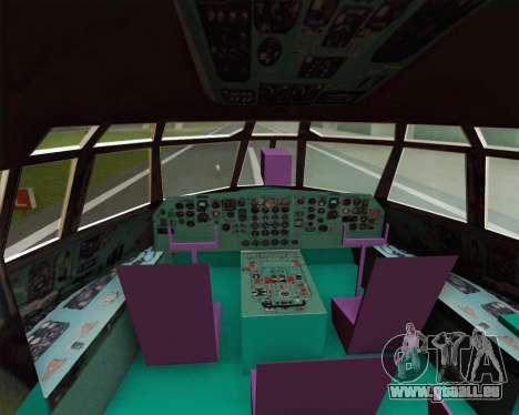 IL-76TD Gazprom Avia für GTA San Andreas Seitenansicht