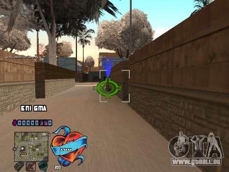 C-PALETTE de Cœur pour GTA San Andreas quatrième écran