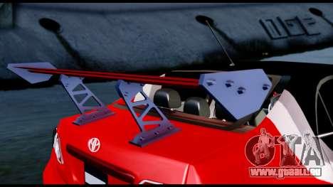 Toyota Corolla 2012 LOJACK Racing pour GTA San Andreas vue arrière