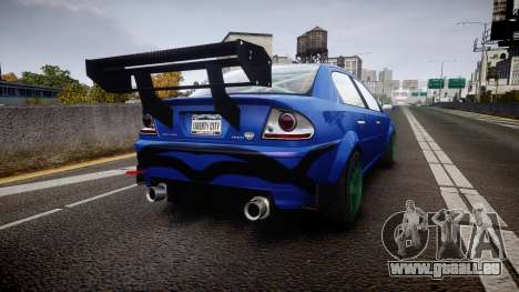 Declasse Premier Touring pour GTA 4 Vue arrière de la gauche