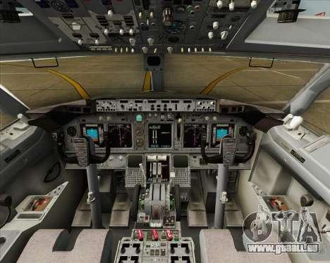 Boeing 737-800 LOT Polish Airlines pour GTA San Andreas vue de côté