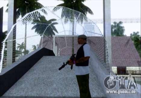Akmn avec des SEINS pour GTA San Andreas troisième écran