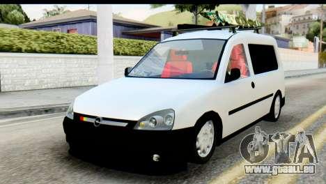 Opel Combo Delta Garage für GTA San Andreas