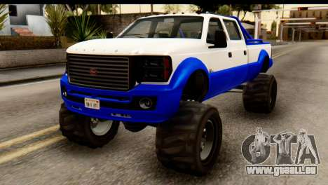 GTA 5 Vapid Sandking XL IVF pour GTA San Andreas