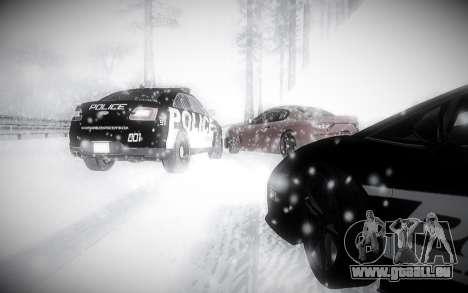 L'Hiver 2.0 ENBSeries pour GTA San Andreas cinquième écran