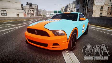 Ford Mustang Boss 302 2013 Gulf pour GTA 4
