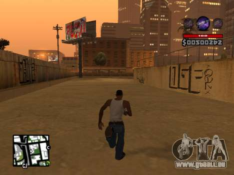C-HUD by Granto pour GTA San Andreas cinquième écran