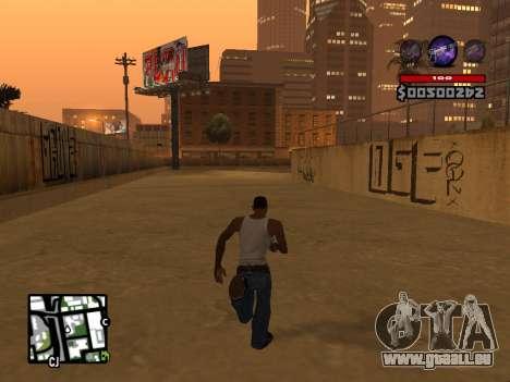 C-HUD by Granto für GTA San Andreas fünften Screenshot