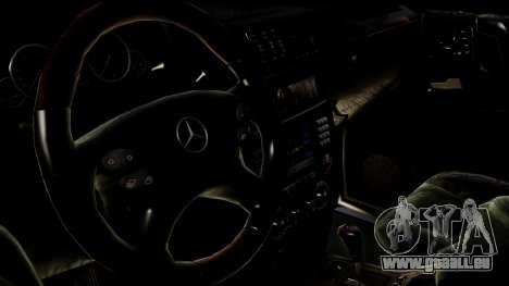 Mercedes-Benz G55 AMG für GTA San Andreas zurück linke Ansicht