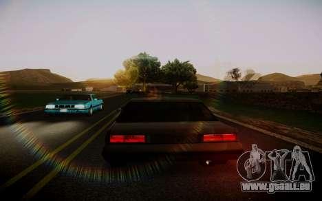 Fourth Road Mod pour GTA San Andreas deuxième écran