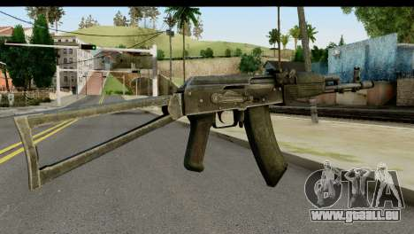 Plastique AKS-74 pour GTA San Andreas deuxième écran