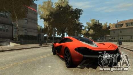 McLaren P1 2013 [EPM] pour GTA 4 est un droit