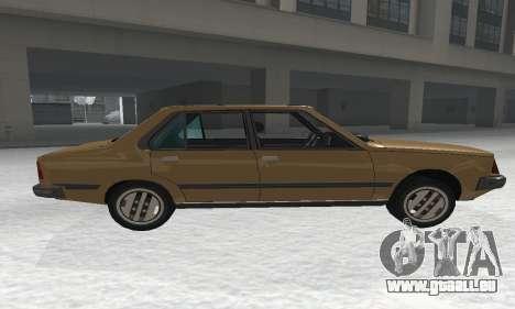 Renault 18 pour GTA San Andreas laissé vue