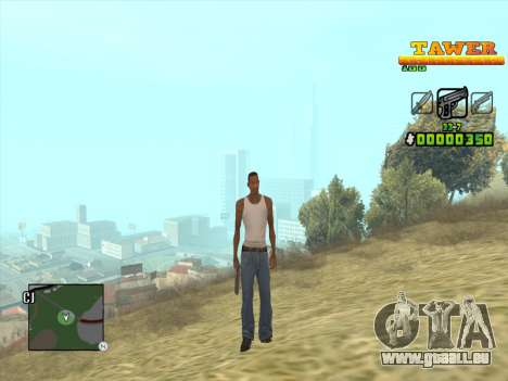 С-HUD par D. Sangle pour GTA San Andreas