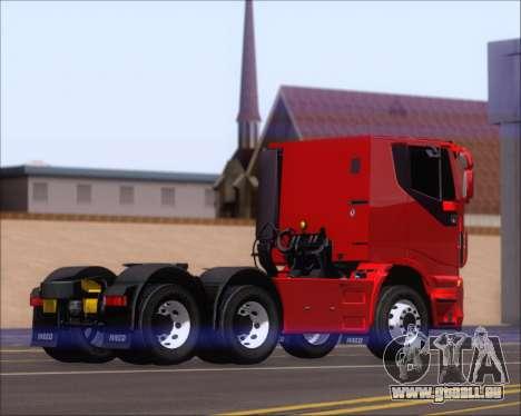 Iveco Stralis HiWay 6x4 pour GTA San Andreas vue de droite
