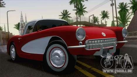 Chevrolet Corvette C1 1957 pour GTA San Andreas