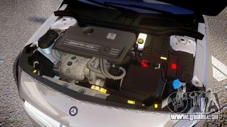 Mersedes-Benz A45 AMG PJs5 für GTA 4 Innenansicht