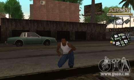 C-HUD Army für GTA San Andreas